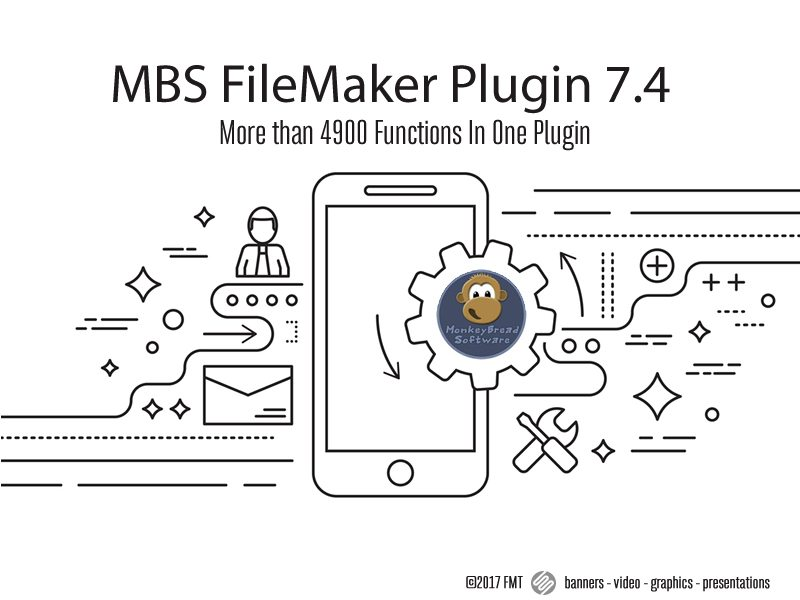 MBS FileMaker Plugin 7 4 – More than 4900 Functions In One