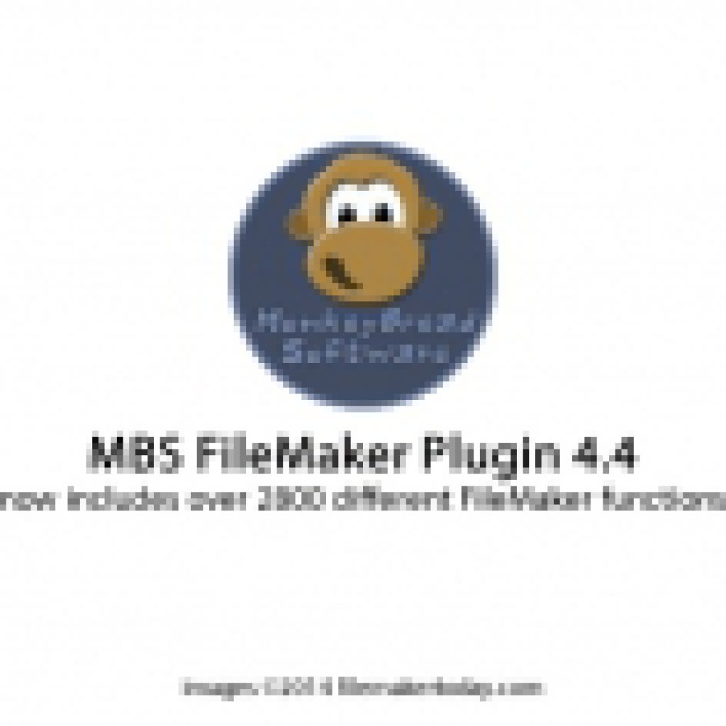 MBS FileMaker Plugin 4 4 now includes over 2800 different FileMaker