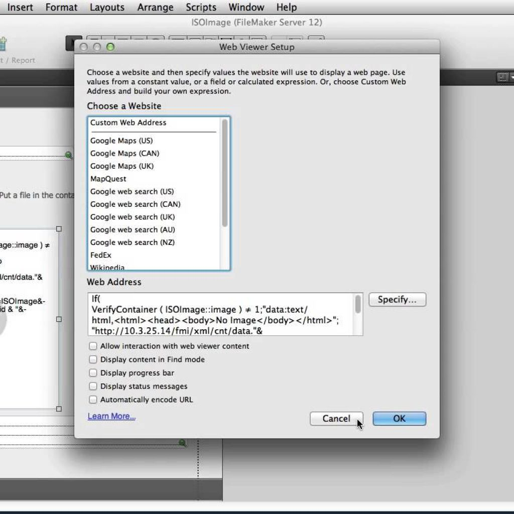 """HTML5 and FileMaker Web Viewer pt 2 """"Displaying HTML in a Web Viewer"""