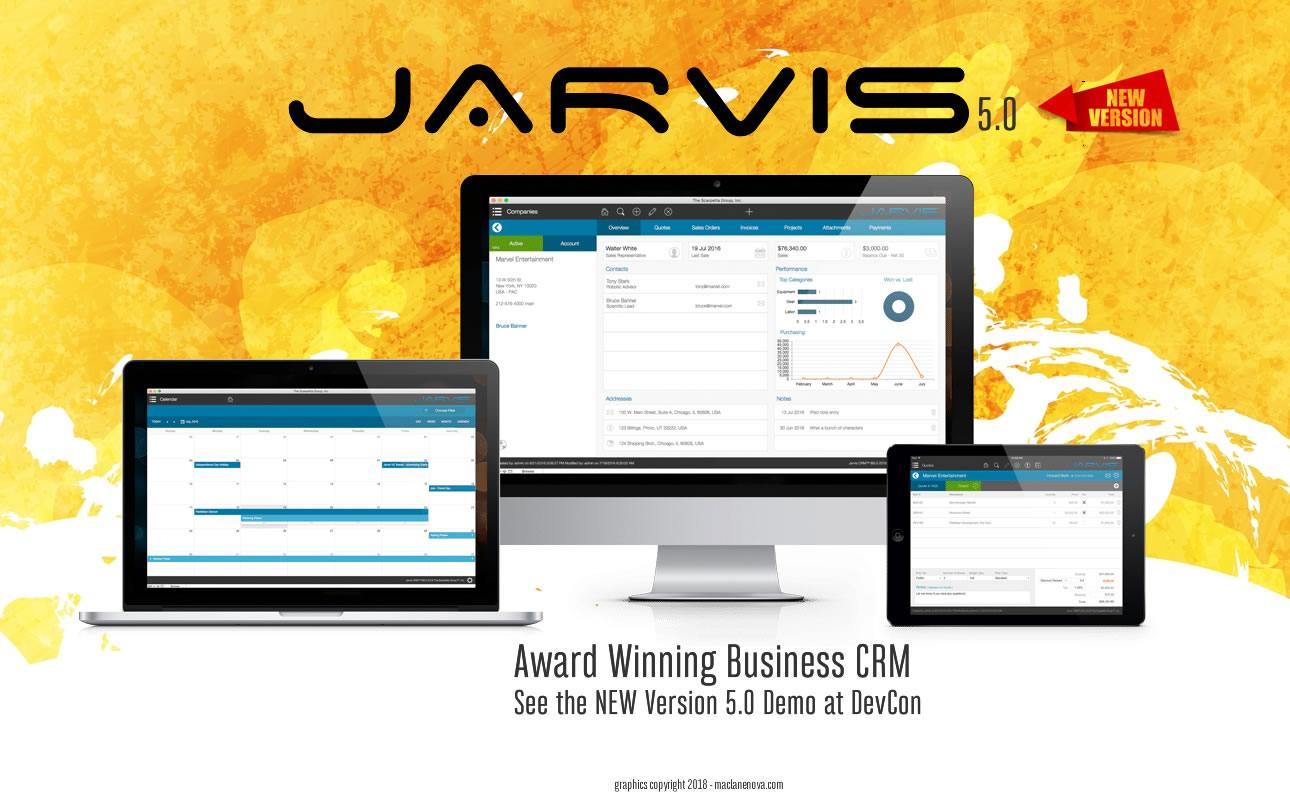 NEW! Jarvis 5 0 – Feature Rich Business Application for
