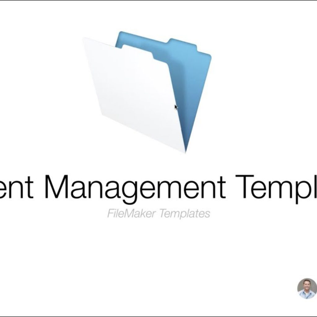 Introducing the Event Management Template