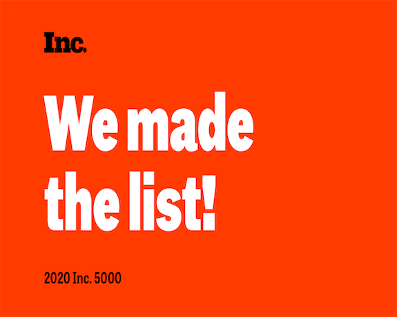 DB Services Made The 2020 Inc. 5000 List